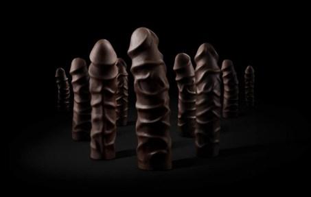 pénis en chocolat