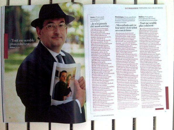 article Psycho Mag Didier Long