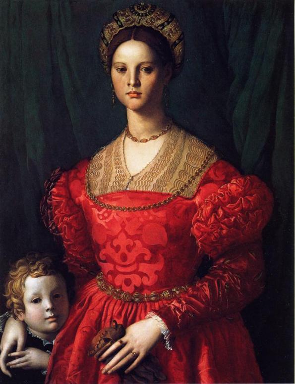 Agnolo_Bronzino, Beatriz de Luna