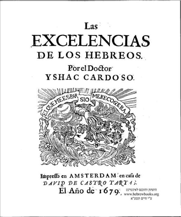 Las Excelencias de los Hebreos