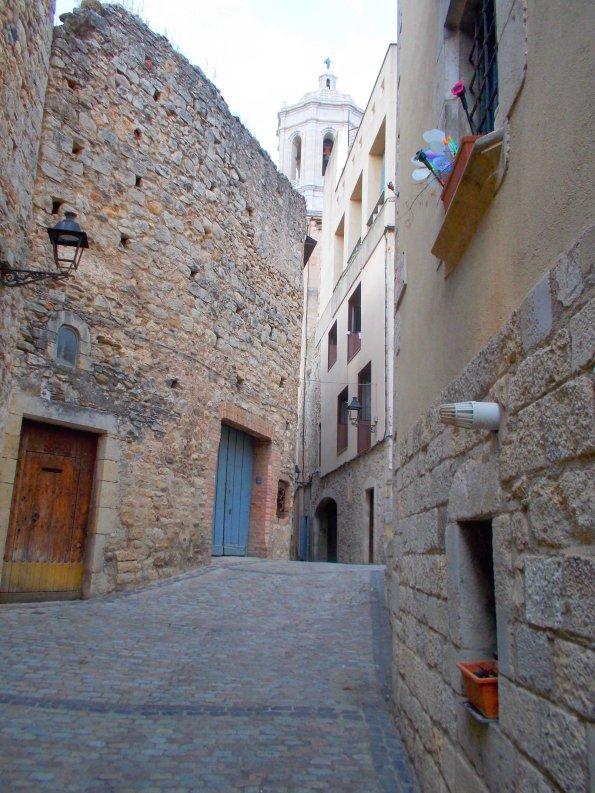 Rue juive à Gérone