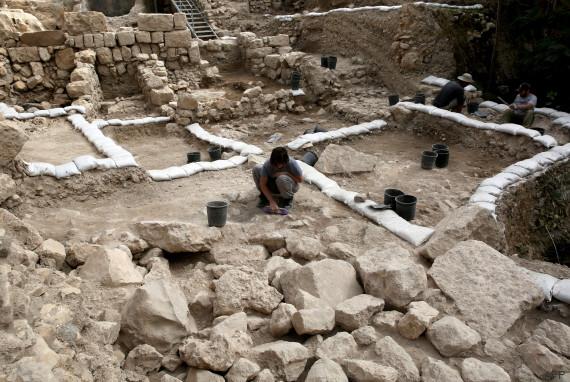 ISRAEL-ARCHAEOLOGY-CITADEL-CULTURE