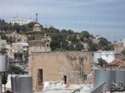 Hébron, sur les toits