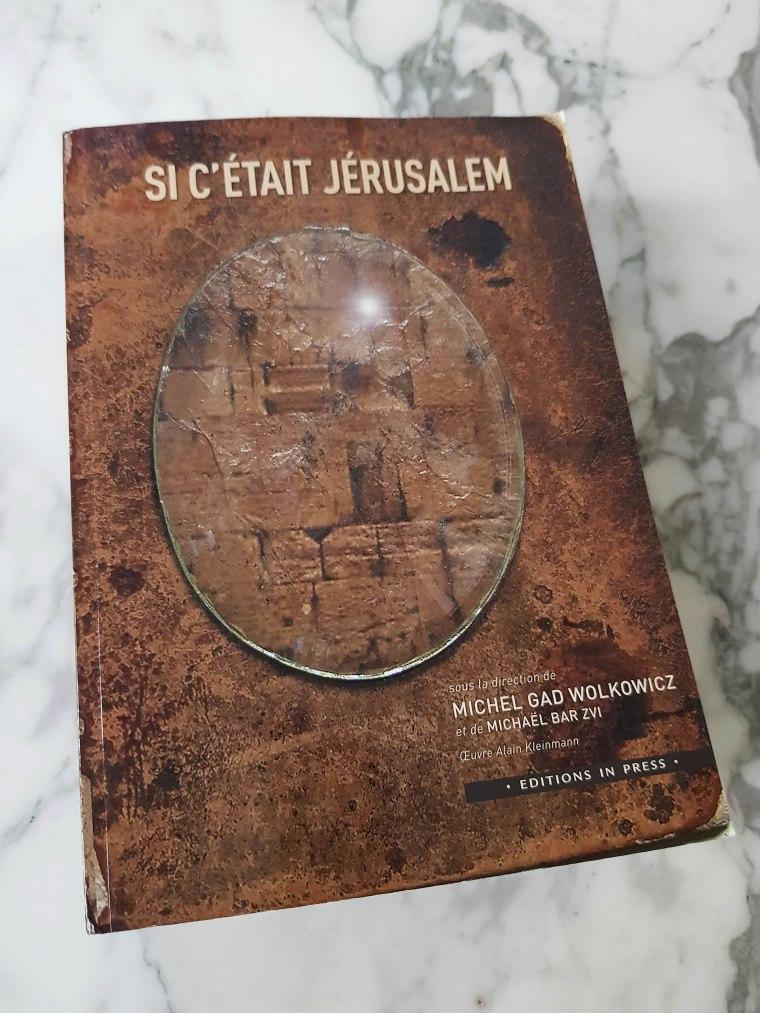 Si c'était Jérusalem Couv