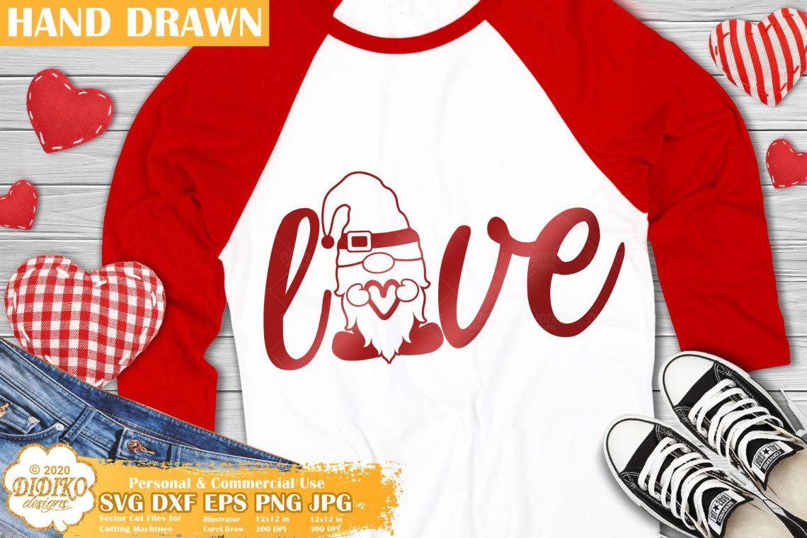 Download Gnome Love SVG, Valentine SVG for Kids, Gnomes Svg ...