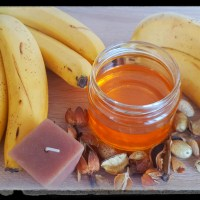 Homemade Hair mask Banana and Honey