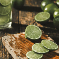 Make Your Own Lime Body Scrub