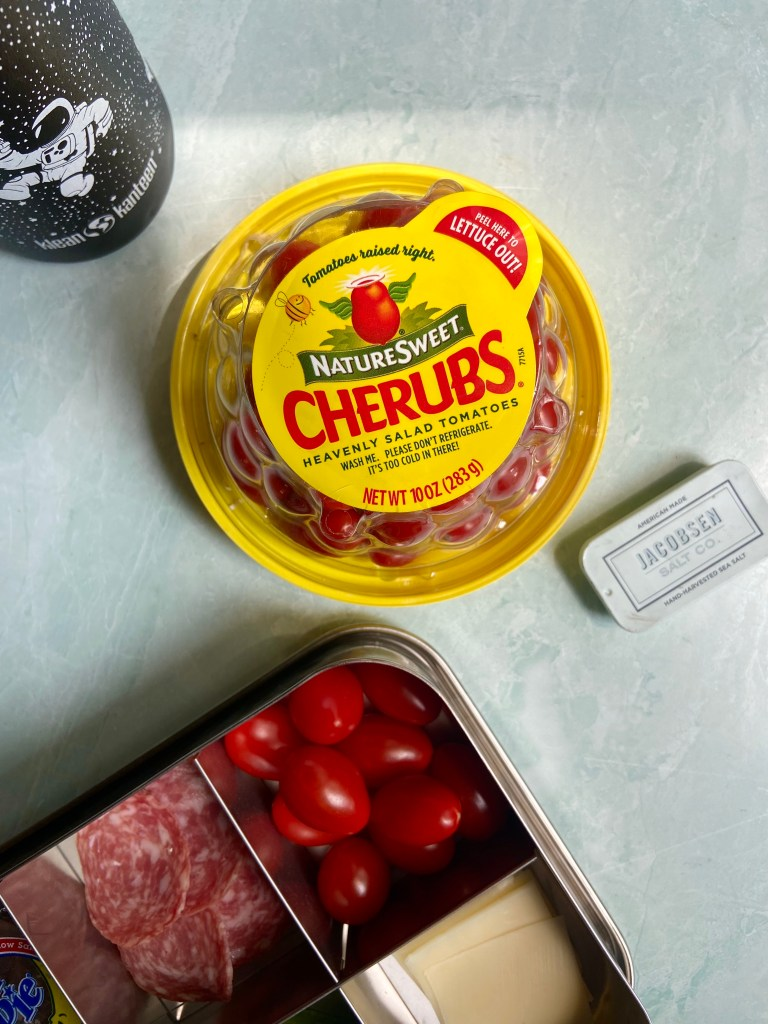 NatureSweet Tomatoes: our favorite lunchbox veggie now comes in a convenient To-Go Pack! | Didn't I Just Feed You podcast