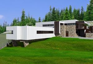 Къща за гости, архитект