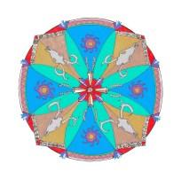 Southwest Mandala (August) - $125