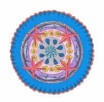 Sea Mandala (March) - $125