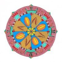 Thunderbirds of Kewa Mandala (October) - $125