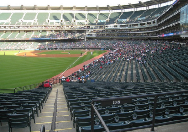 Image result for empty indians stadium
