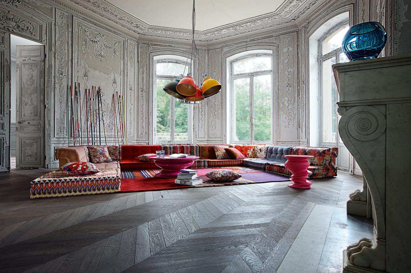 """Sofa """"Mah Jong"""" Von Roche Bobois"""