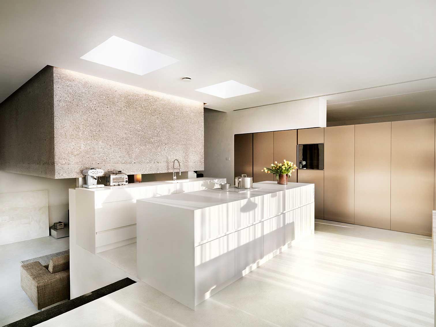 Wohnen im Split Level Haus Moderne Einfamilienhäuser