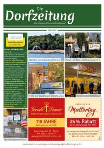 Die Dorfzeitung Reinickendorf Mai 2020
