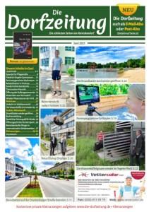 Titelbild Die Dorfzeitung Reinickendorf Juni 2021