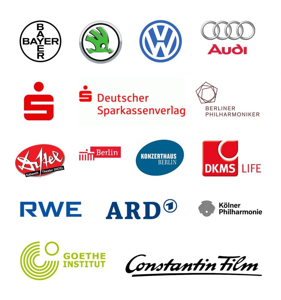 Viel Erfahrung: Mehr als 500 zufriedene Kunden in 10 Jahren ! erklaerfilm_kunden_logos2