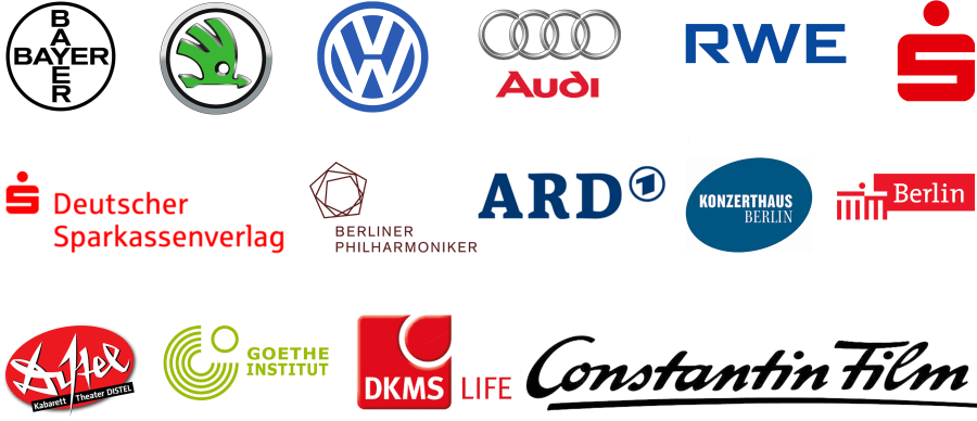 DIE ERKLÄRVIDEO AGENTUR - Erklärfilm & Videoproduktion erklaerfilm_kunden_logos_gross_quer