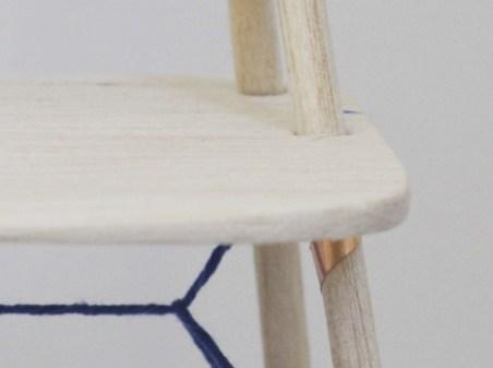 Stuhl Detailaufnahme