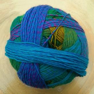 © Die Maschen zum Glück | Zauberball 100 Herzstück von Schoppel Wolle 100% Merinowolle superwash