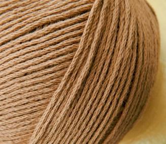 Bio Baumwolle ohne Gentechnik Haselnuss | Atelier Zitron | für Allergiker geeignet