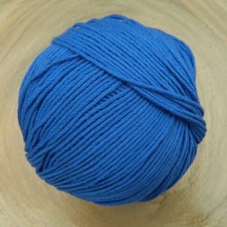 Bio Baumwolle ohne Gentechnik Kornblau | Atelier Zitron | für Allergiker geeignet | © Die Maschen zum Glück