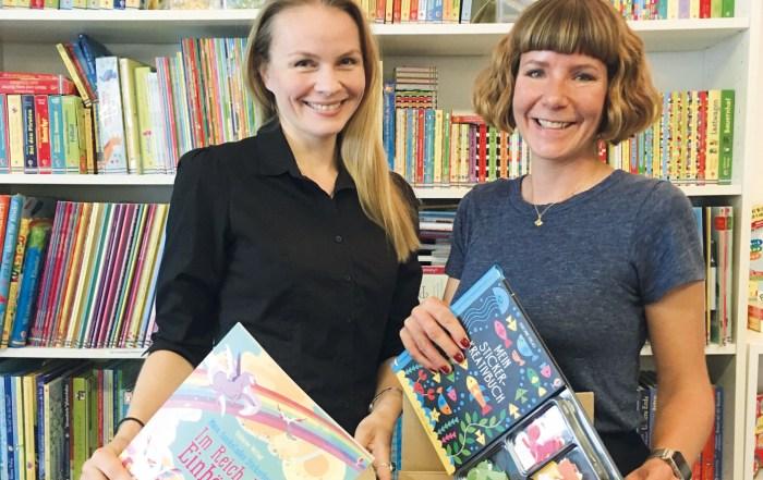 Usborne Verlag, Jannina Broders, Claudia Holzer, Umzug, Regensburg