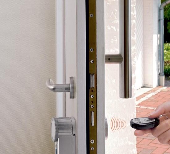Sehr Ohne Schlüssel die Tür öffnen mit dem HomeMatic® KeyMatic-Set LQ29