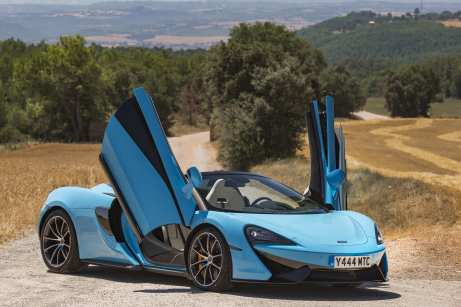 McLaren 570S Spider Launch World Copyright: ©McLarenAutomotive Ref: McLaren-570S-SpiderLaunch-95.CR2