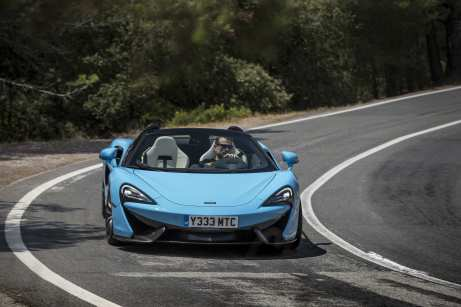 McLaren 570S Spider Launch World Copyright: ©McLarenAutomotive Ref: McLaren-570S-SpiderLaunch-116.CR2