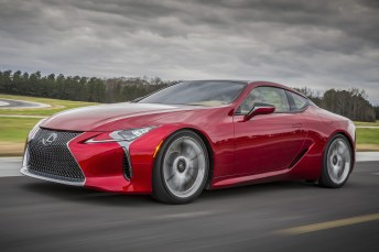 Antrittsstark: 4,5 Sekunden benötigt der LC500 für den Standard-Sprint. © Lexus