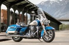 Bulliger Vertreter der Touring-Baureihe von Harley: die Road King. © Harley-Davidson