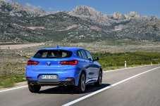 Der X2 soll von der Optik her die robusten Gene eines X-Modells mit der eleganten Sportlichkeit eines Coupés vereinen. © BMW