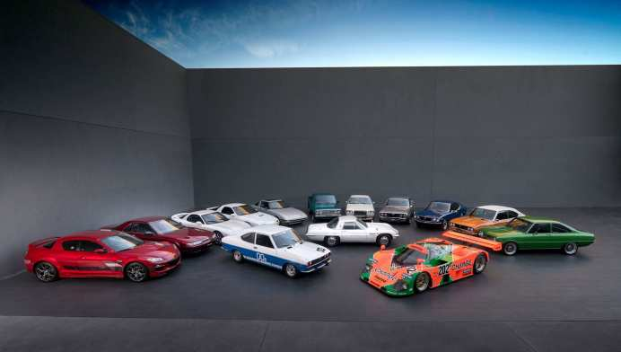 Die Wankel-Palette von Mazda