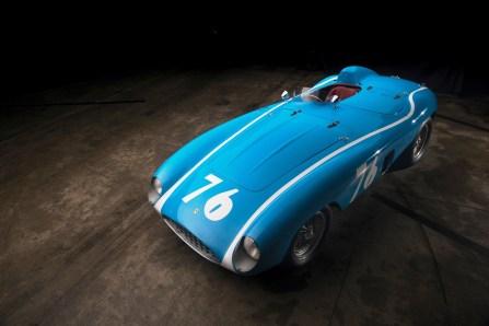 Ferrari 121 LM Spider (1955) für 5,72 Millionen Dollar (4,867 Mio. Euro).Foto: Auto-Medienportal.Net/Sotheby's/Darin Schnabel