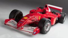 Ferrari F 1 (2001) von Michael Schumacher für 7 504 000 Dollar (6 385 000 Euro).Foto: Auto-Medienportal.Net/Sotheby's