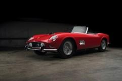 Ferrari 250 GT LWB California Spider (1959) für 9 504 550 Dollar (8 087 000 Euro)Foto: Auto-Medienportal.Net/Sotheby's/Darin Schnabel