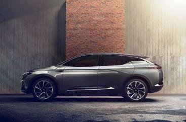 Das Design zeigt einen maskulinen und dennoch eleganten Stil mit unverwechselbaren Proportionen, einer abfallenden Dachlinie und vielen aerodynamischen Optimierungen. Foto: Auto-Medienportal.Net/Byton