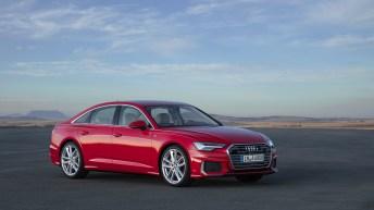 Mit spannungsvollen Flächen, scharfen Kanten und markanten Linien signalisiert die Business-Limousine Audi A6 ihren Charakter unmissverständlich: sportliche Eleganz, Hightech und Hochwertigkeit. Foto: Audi