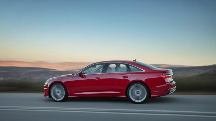 Alle Motoren im neuen A6 bringen die neue Mild-Hybrid-Technologie von Audi mit. Der Audi A6 kann zwischen 55 und 160 km/h segeln. Foto: Audi