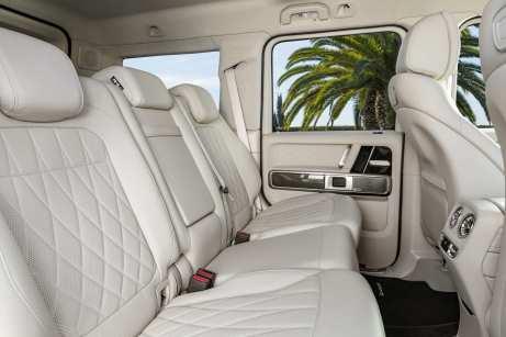 Das Interieur des Mercedes-AMG G 63 ist für einen SUV außergewöhnlich luxuriös. Foto: Auto-Medienportal.Net/Daimler