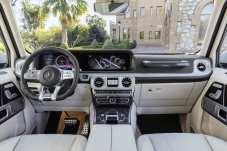 Das Cockpit des Mercedes-AMG G 63. Foto: Auto-Medienportal.Net/Daimler