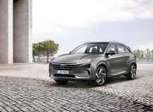 Mit dem neuen Nexo baut Hyundai Motor seine Führungsrolle bei den Brennstoffzellenfahrzeugen aus und setzt Maßstäbe bei Design, alternativer Antriebstechnologie, Assistenzsystemen und Reichweite. Foto: Auto-Medienportal.Net/Hyundai