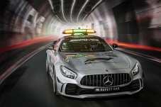 Der 430 kW (585 PS) leistende AMG GT R feiert beim Grand Prix im australischen Melbourne vom 25. bis 27. März 2018 sein Debüt als Official FIA F1 Safety Car der FIA Formel 1-Weltmeisterschaft. Foto: Auto-Medienportal.Net/Daimler