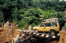 """Camel Trophy"" in Malaysia (1993). Foto: Auto-Medienportal.Net/Land Rover"