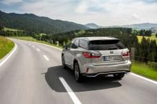 Die Heckklappe des RX L steht etwas steiler, um mehr Platz zu schaffen. © Lexus