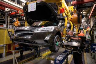 In Saarlouis hat die Produktion der vierten Generation des Ford Focus begonnen. © Ford
