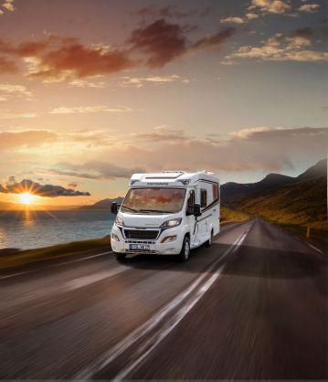 Europas erfolgreichstes Reisemobil: Der CaraCompact EDITION PEPPER mit noch umfangreicherer Ausstattung. Foto: Knaus