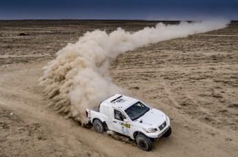 """Strapazen für Mensch und Material, eine Rallye-Teilnahme ist etwas für """"Hartgesottene"""". © PS Laser"""